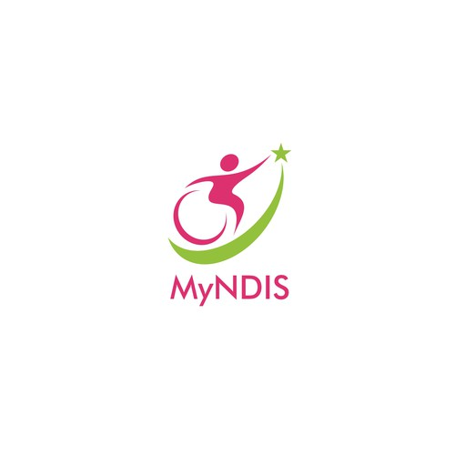 MyNDIS - Logo for online disability care services