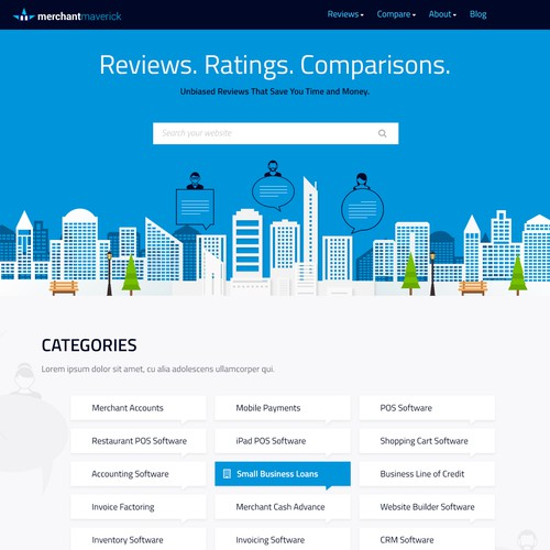 Review Company Web design