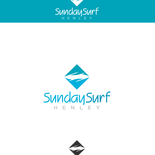 It's a Sunday Surf weekend, relax with us and share a logo!