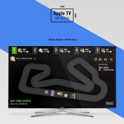 Scoring App for TV