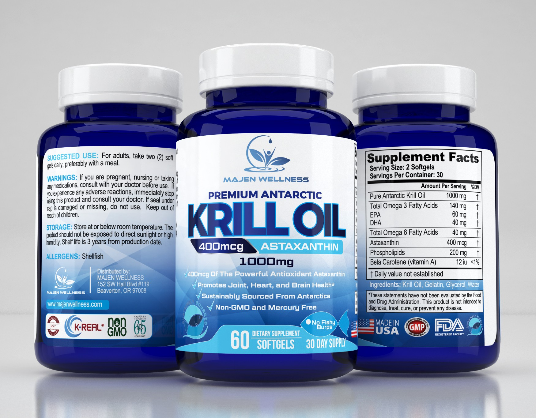 Cutting Edge Supplement Needs Label Packaging