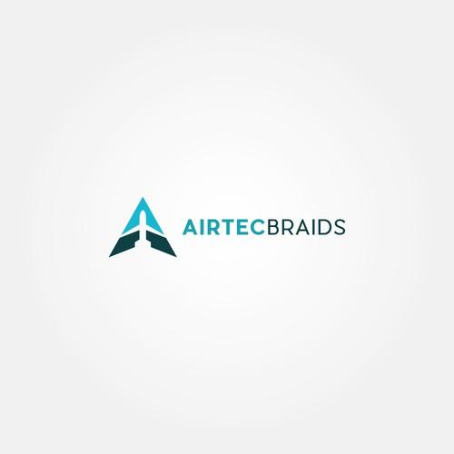 Airtec Braids Logo concept