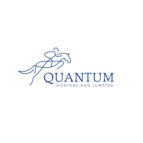 Quantum Hunters and Jumpers logo design