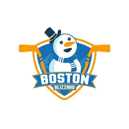 Design concept for kids hockey team