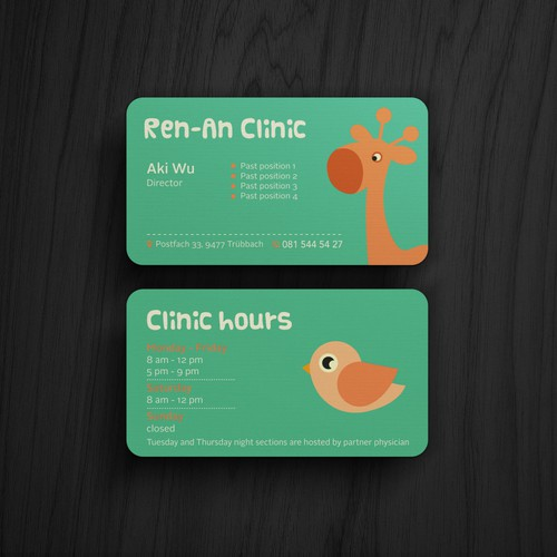 Playful Business Card