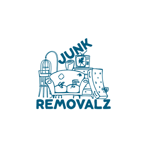 Bold logo for junk removals