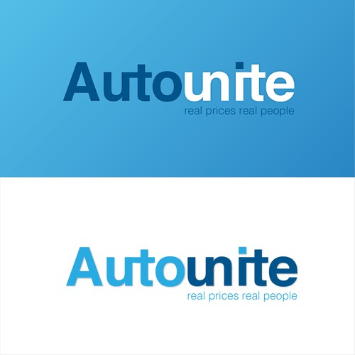Concept logo for a website selling cars