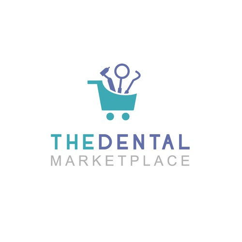 Logo concept for online dental shop