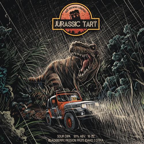 8-bit Jurassic Tart