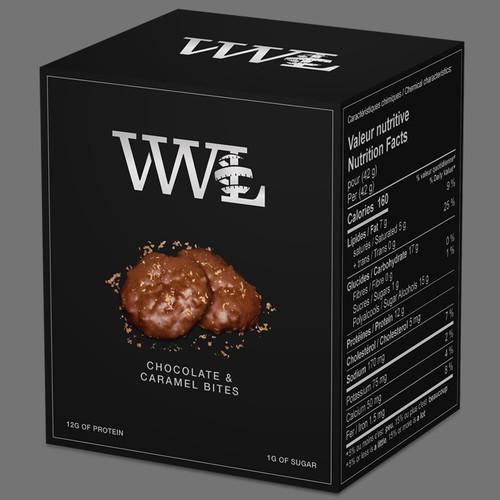 Chocolate & Caramel Bites
