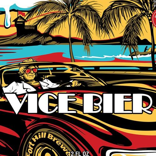 Vice Bier Label