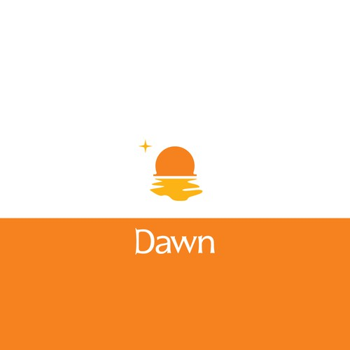 Warm logo for an e-commerce brand