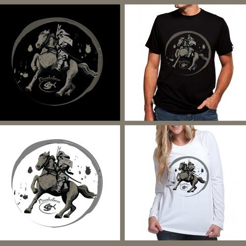 Samurai Horse shirt design