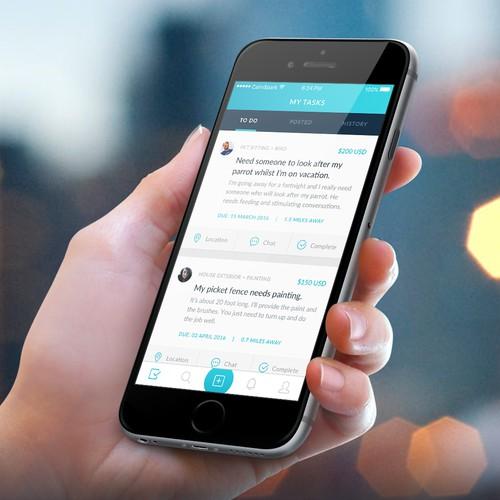 App design for Gigit