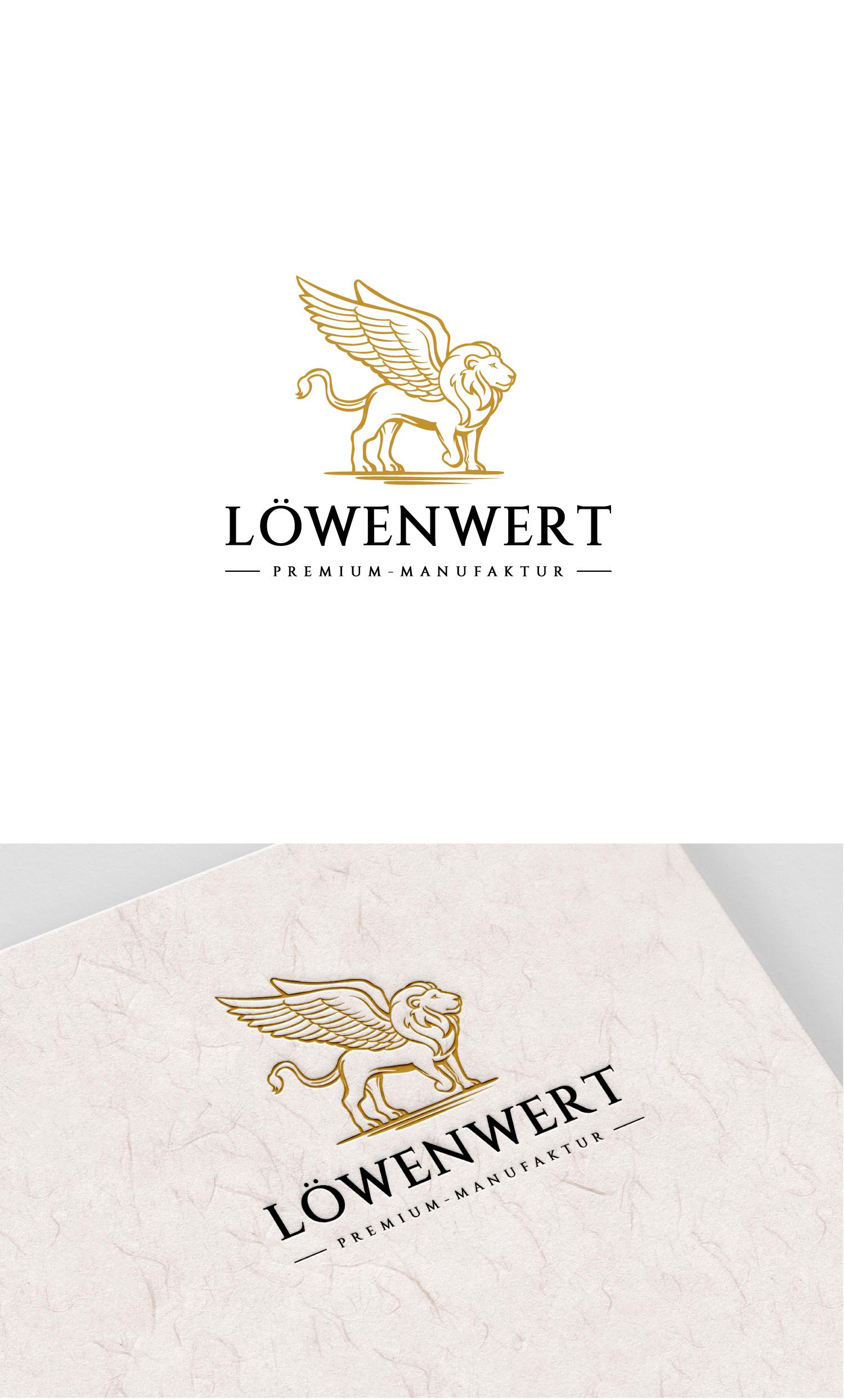 Löwenwert-Logo Design