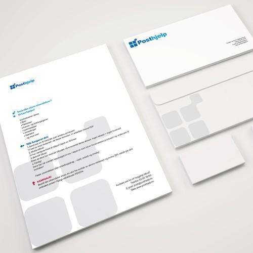 Marketing letter and envelope
