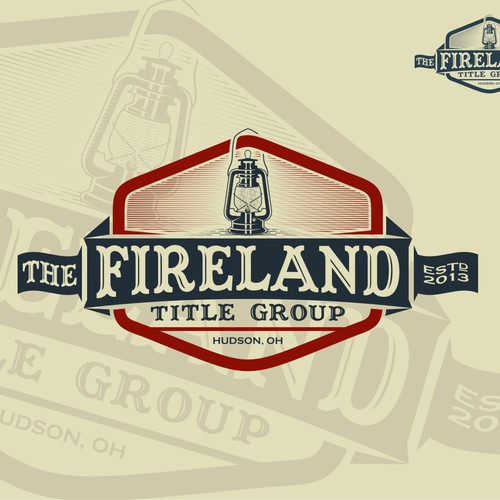 Create a winning vintage logo for title group
