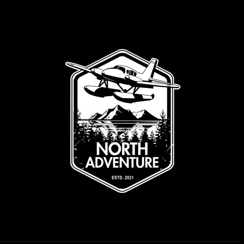 A logo design for a store company based in Alaska