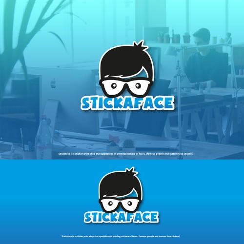 Logo design for a sticker company