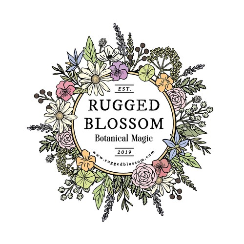 Rugged Blossom Logo
