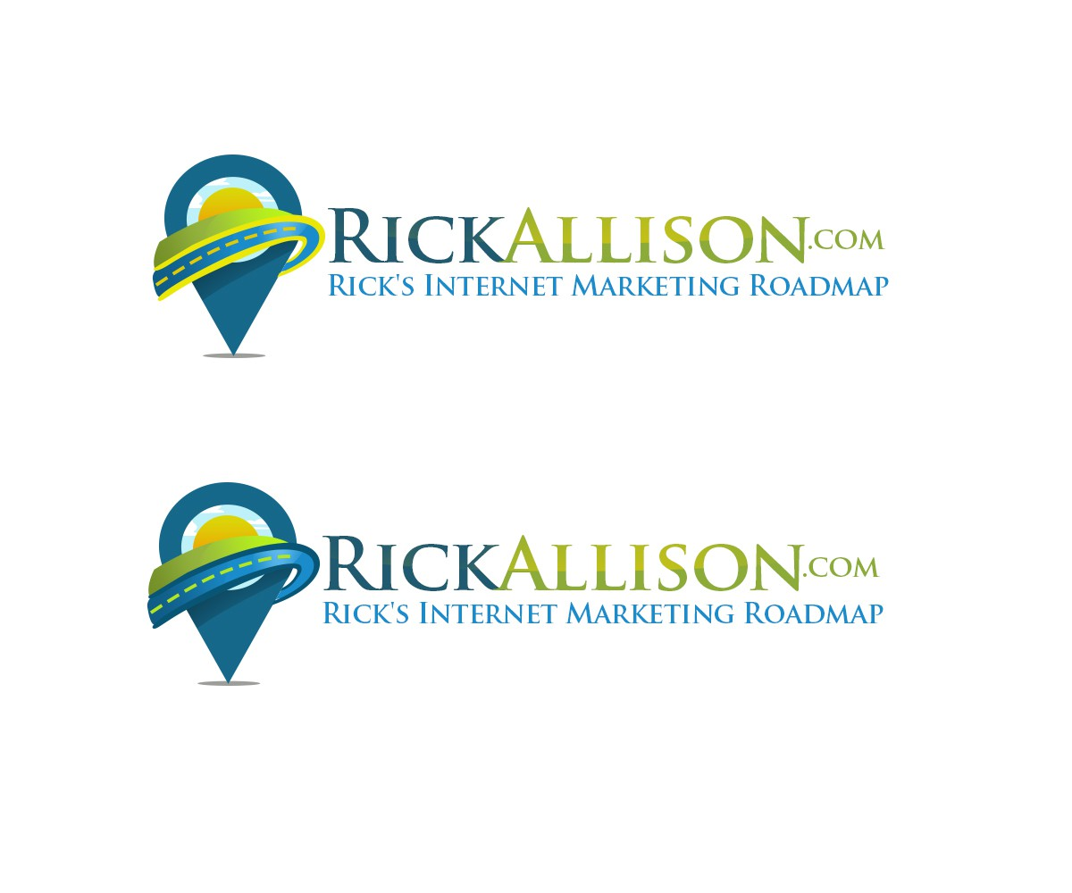 Create eye catching logo for Rick's Internet Marketing Roadmap