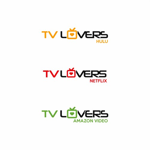 Develop existing idea for the TV Lovers logo, or submit your own proposal