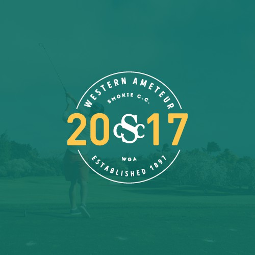 Prestigious Golf Tournament Logo