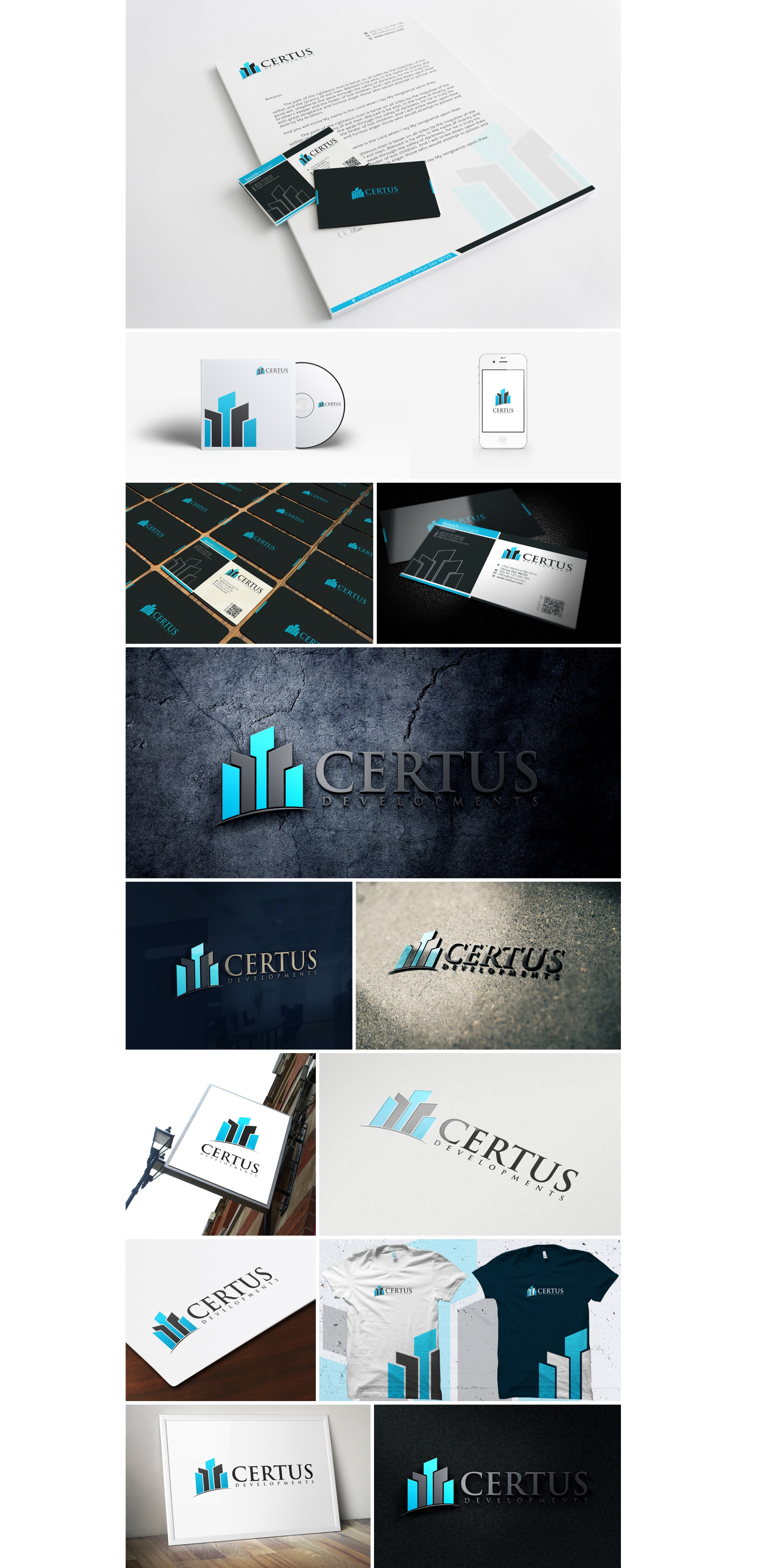 New company Certus Developments, LLC is looking for branding recognition!