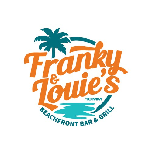Retro Logo for a Beach Bar