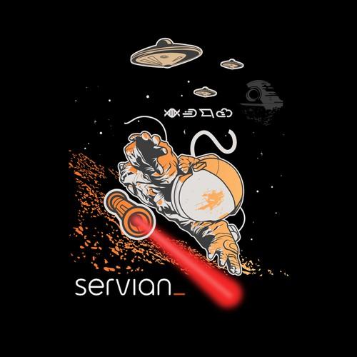 servian t shirt