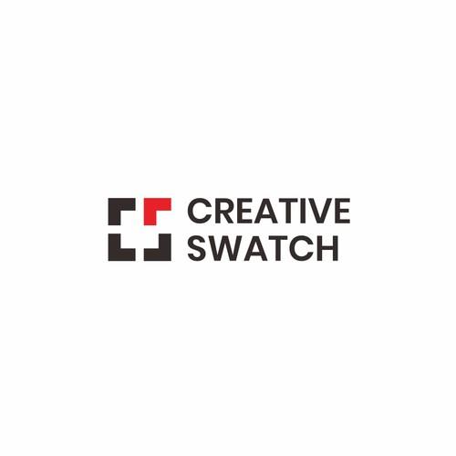Simplistic logo for creative IT company: Creative Swatch