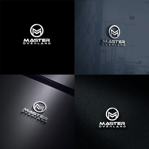 Logo for custom expedition truck company