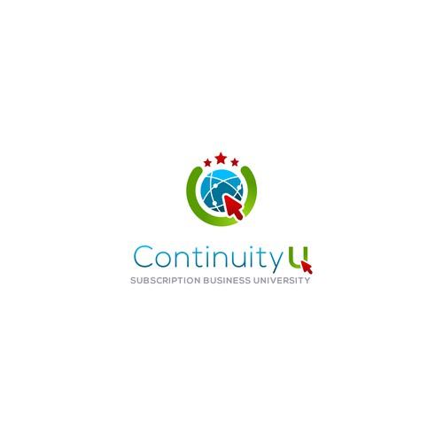 Continuity U logo design