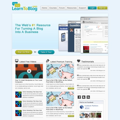 LearnToBlog