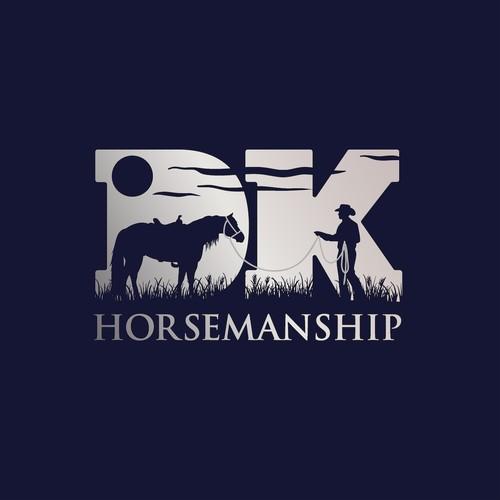 Winning Logo for DK Horsemanship