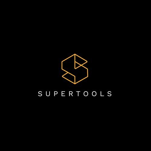 Supertools Logo Design