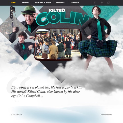 Kilted Colin