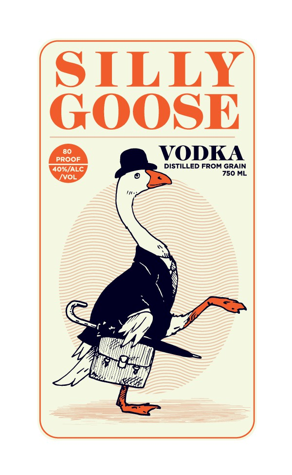 Design a completely ridiculous vodka label