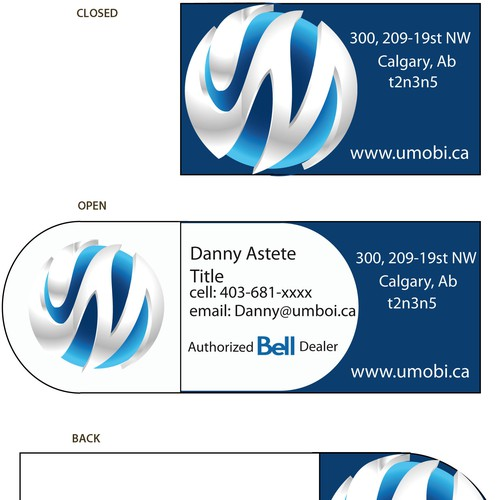 Business Card for business solutions company