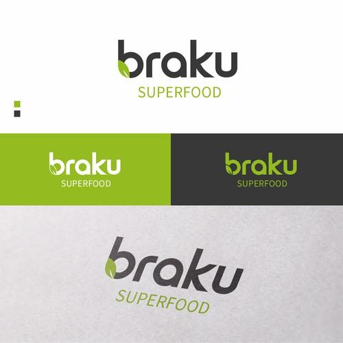 Logo proposal for BRAKU SUPERFOOD Start-Up