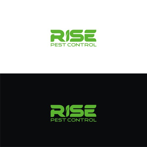 RISE PEST CONTROL LOGOS