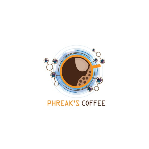 Make me a hacker / phreaker logo for my coffee shop