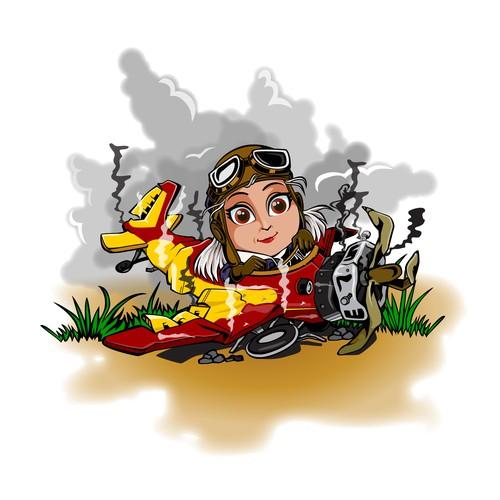 Illustrate My Life-Changing Plane Crash!