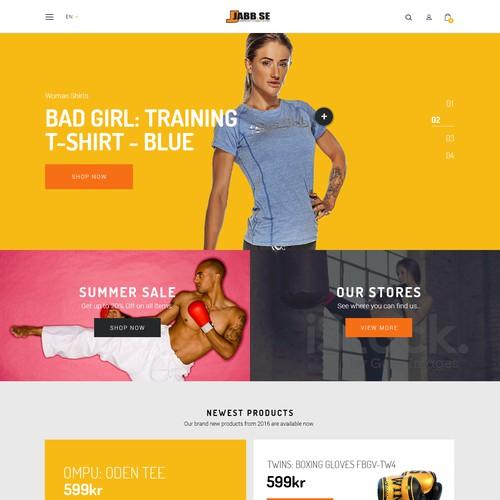 Design for Swedish Webshop
