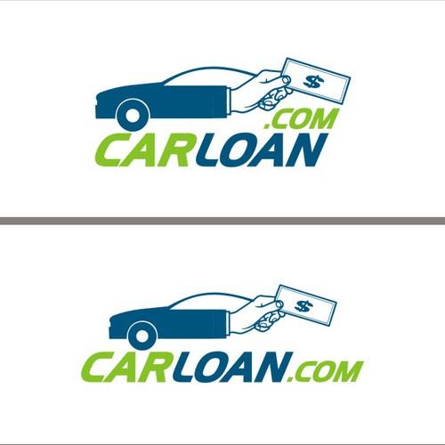 Bold logo design for Car Loan Company