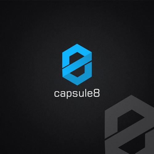 Capsule8 Concept Logo