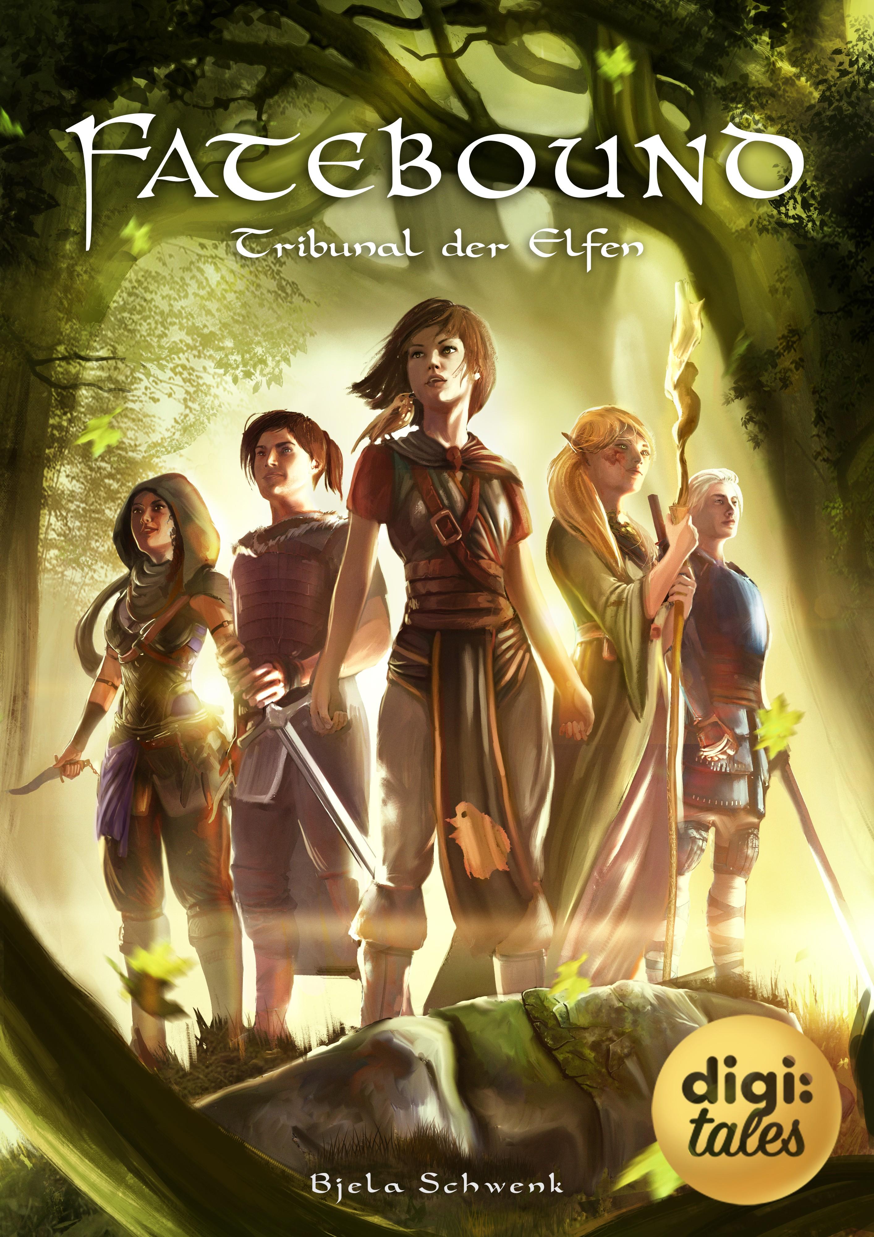 "E-Book Cover for ""Fatebound"" vol. 2"