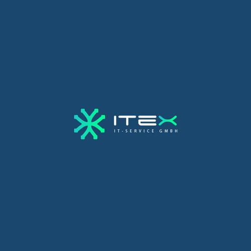 ITEX logo design