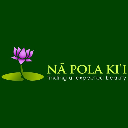 logo and business card for Nã Pola Ki'i