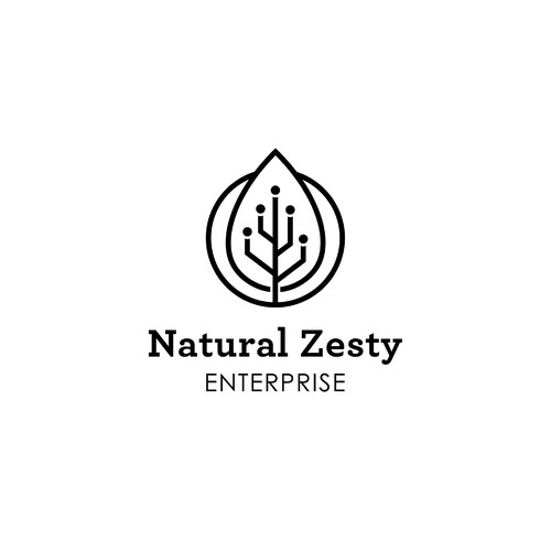 Logo Concept for Natural Zesty